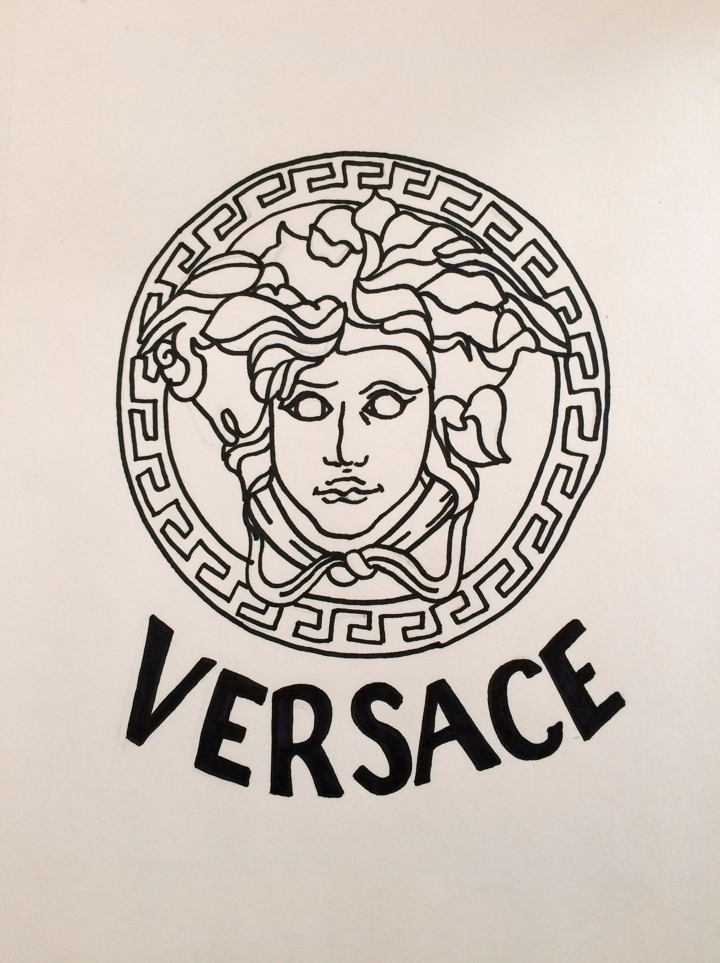 Versace Logo Design - fluechtlingskrise